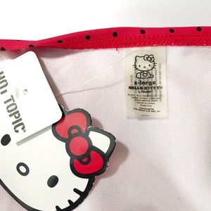 Hello Kitty Swim - Hello Kitty Red & Black polka dot bikini set